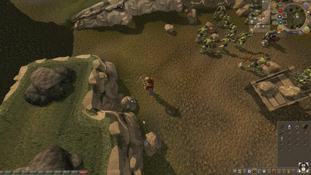 It will appear to be OSRS gold