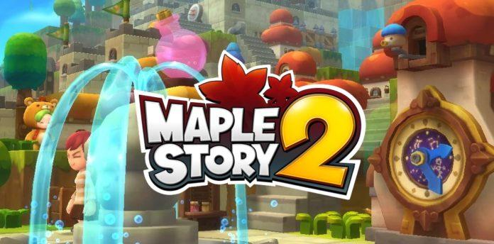 MapleStory 2 has a stylised decorative
